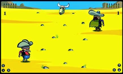 لعبة قتال الكاوبوي
