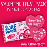 Surf Sweets Nut-Free Gummy Candies for Valentine's Day!
