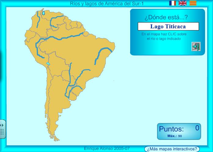 aprendemosentretenidos: TEMA 10: RÍOS Y LAGOS AMÉRICA DEL SUR