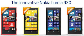 NOkia Lumia 920 can be charged on a wireless charging plate