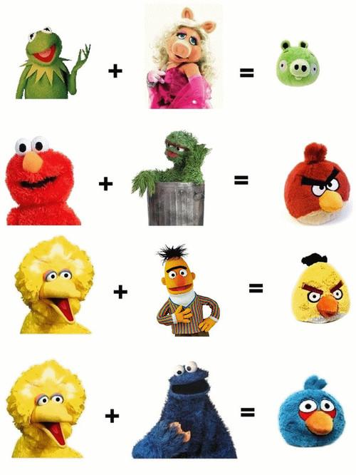 El verdadero origen de los personajes de Angry Birds