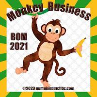 BOM Monkey/ Pumpkin Patch BC