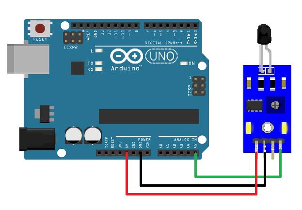 Berbagi ilmu flame sensor dengan arduino