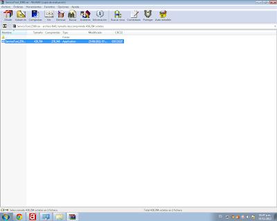 Скриншот архивного файла