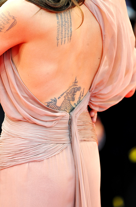 angelina jolie wallpaper bikini. angelina jolie tattoos