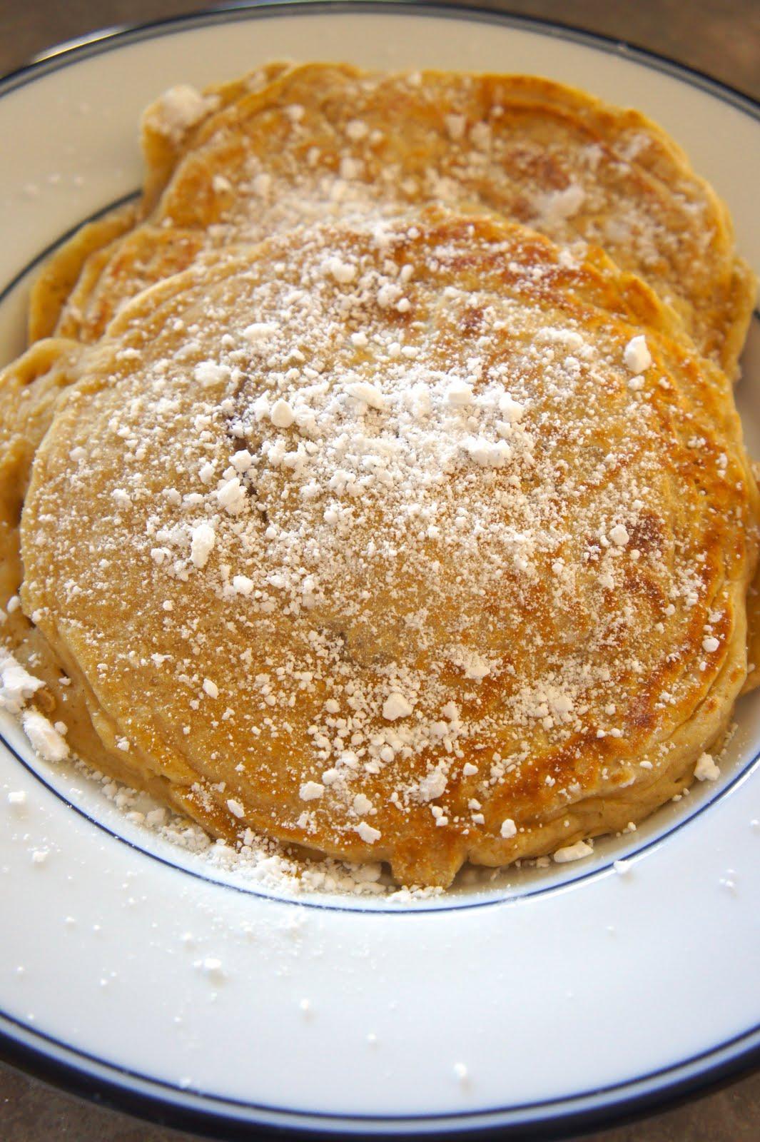 Jelly Doughnut Pancakes: Savory Sweet and Satsifying