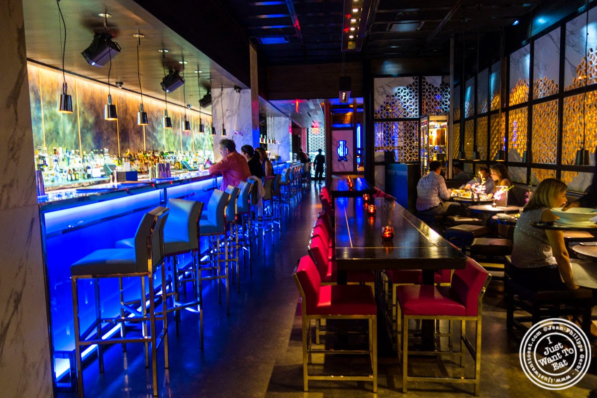 image of lounge at Hakkasan in NYC, NY