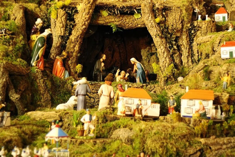 madeira nativity scene