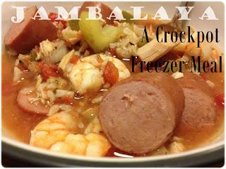 Crockpot Jambalaya