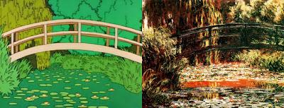 Japoński mostek w Giverny, Claude Monet
