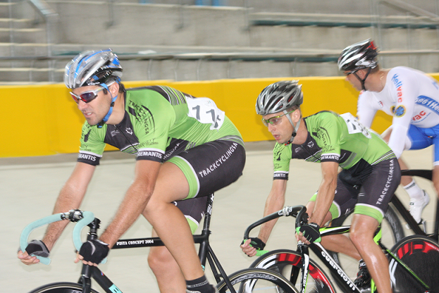 Track cycling at Bellville velodrome, South Africa