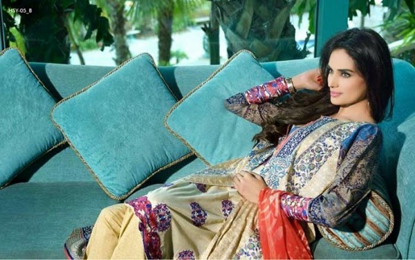 HSY lawn collection 2015