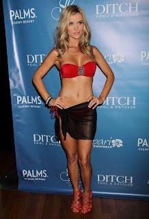 Joanna Krupa red bikini