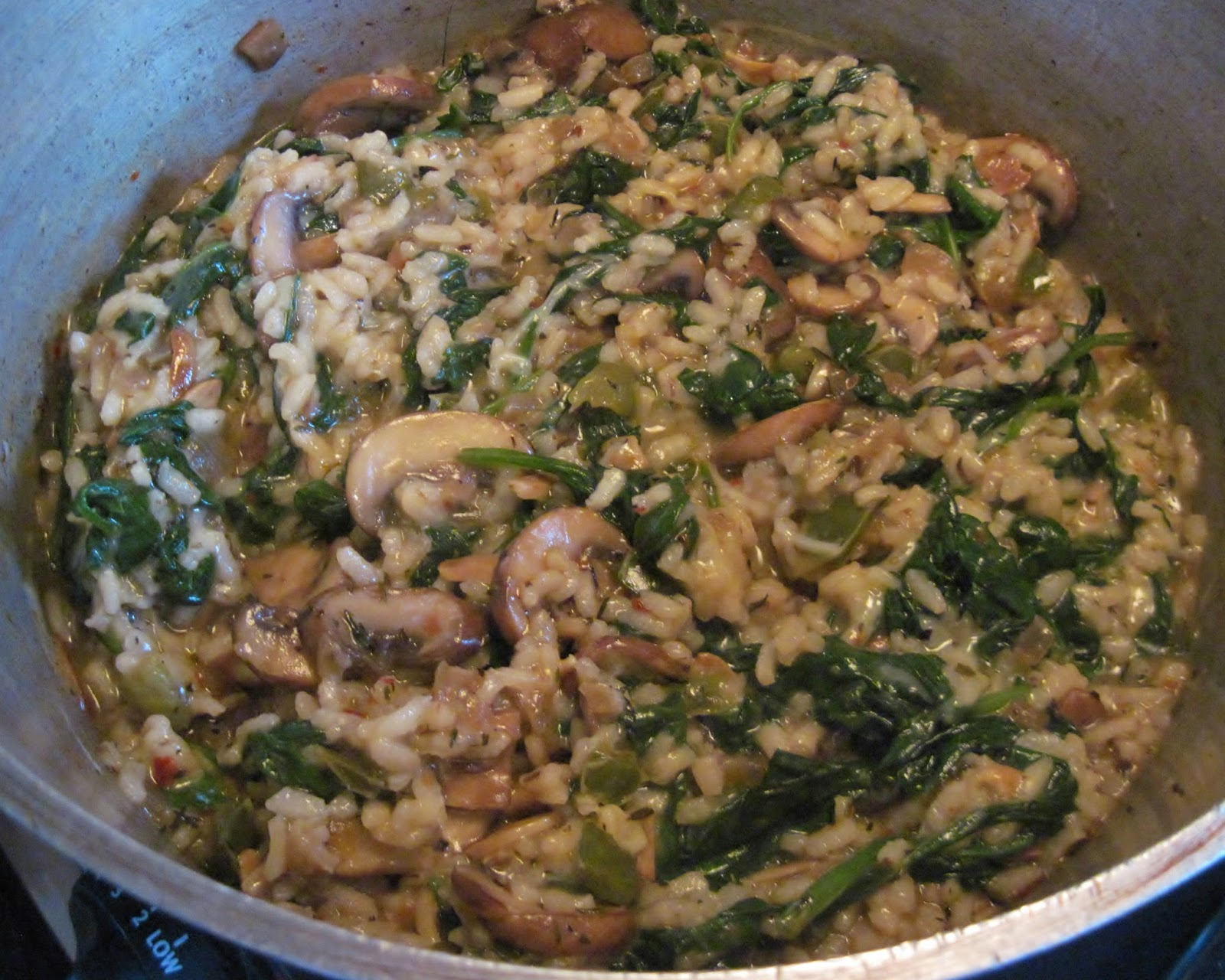 Vodka risotto recipe