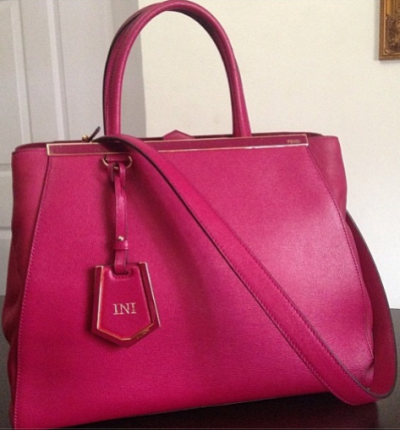 Ini Edo gets customized Fendi bag