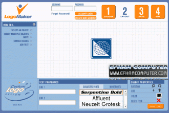 موقع LogoMaker لعمل شعار احترافي