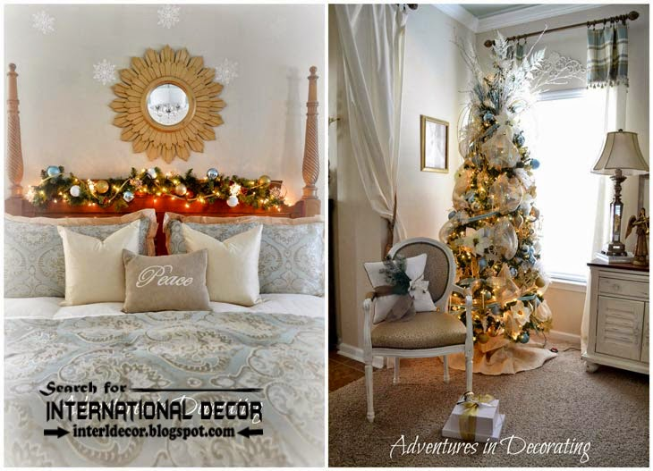 Christmas bedroom decorating ideas 2015 for new year decor, Christmas tree