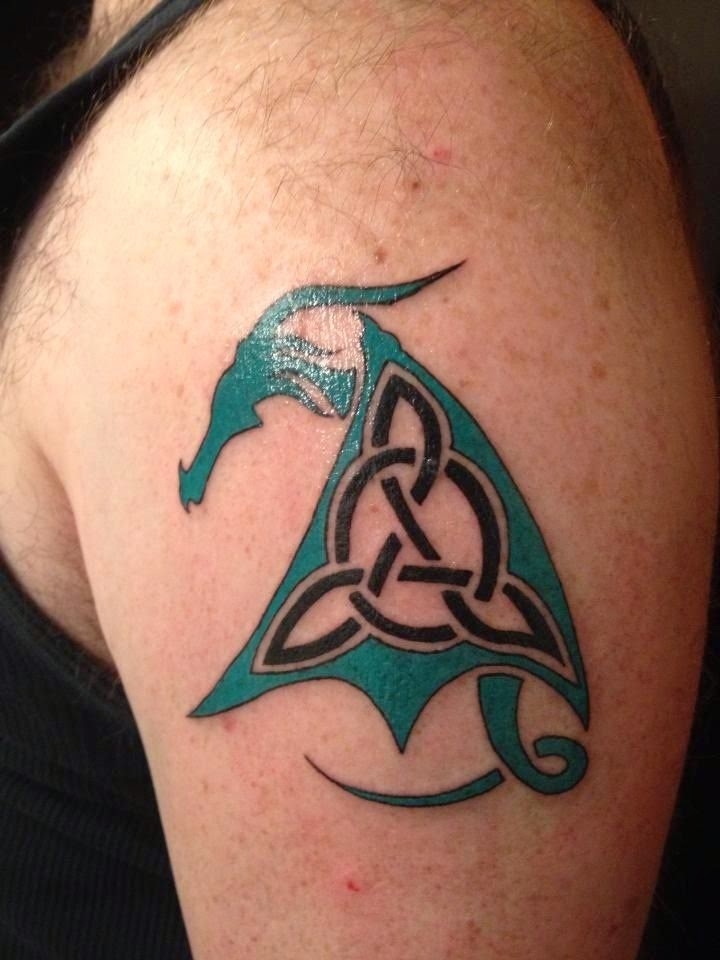 Celtic Shamrock Tattoo Designs