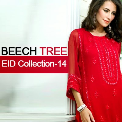BEECH TREE Eid Collection 2014-15 | Exclusive Eid Collection for Girls