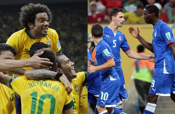 Brasil vs Italia en vivo 2013