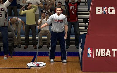 NBA 2K13 Atlanta Hawks Sideline Character / Janitor