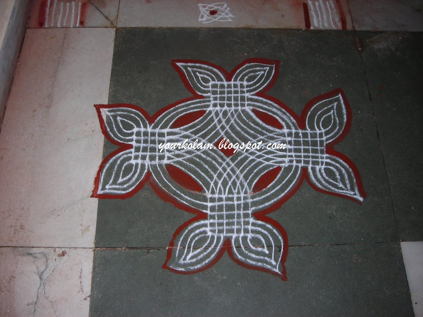 Learn rangoli designs with dots youtube