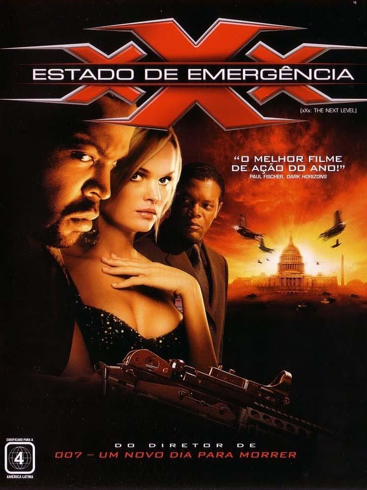 xXx 2: Estado de Emergência Torrent - Blu-ray Rip 720p e 1080p Dual Áudio (2005)