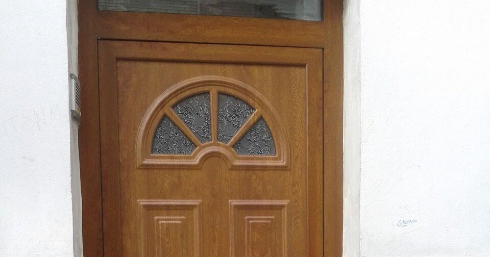 Puerta de aluminio imitaci n madera alces carpinter a - Puertas de aluminio para terrazas ...