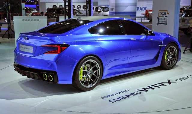 2016 Subaru WRX Design