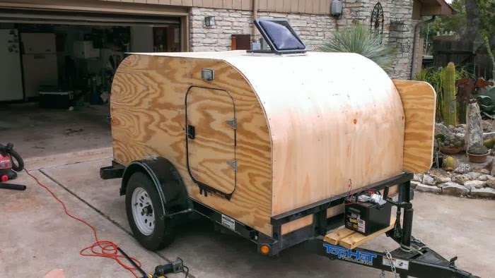 Diy Camping Trailer Damn Cool Pictures