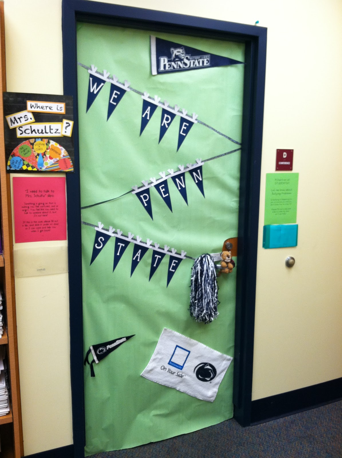 Door Decorating Ideas For School Spirit