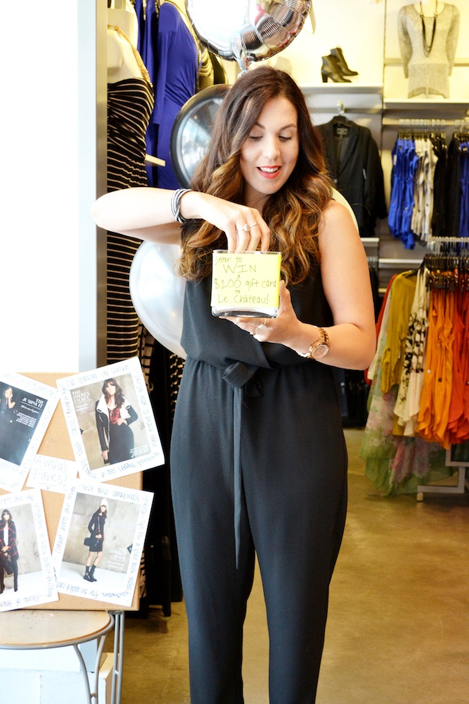 Le Château #MeetTheBlogger Vancouver event Covet and Acquire Aleesha Harris