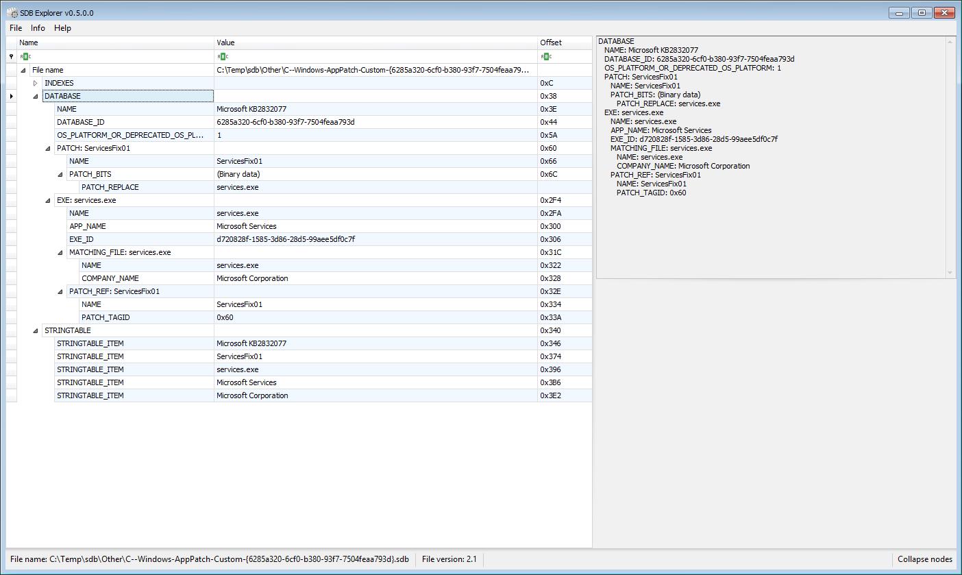 Introducing SDB Explorer | binary foray