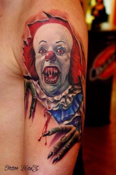 Clown Tattoo Designs