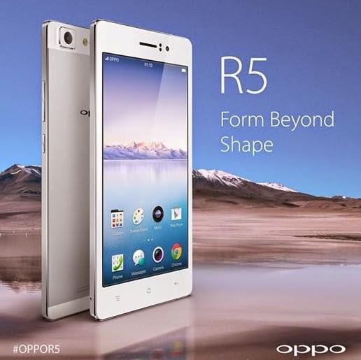 harga spesifikasi Oppo R5 - ZendroidLine