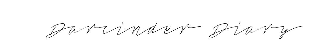 Darcinder Diary