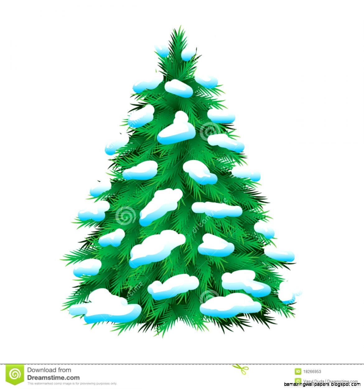 Winter Pine Trees Clipart   Clipart Kid