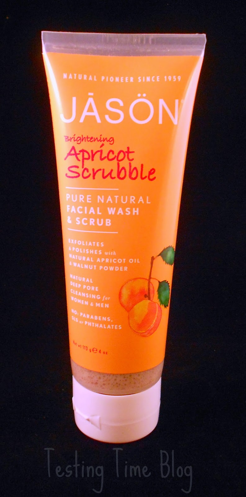 Love Lula Box Jason Apricot Scrubble Pure Natural Facial Wash & Scrub