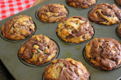Nutella Oat Muffin