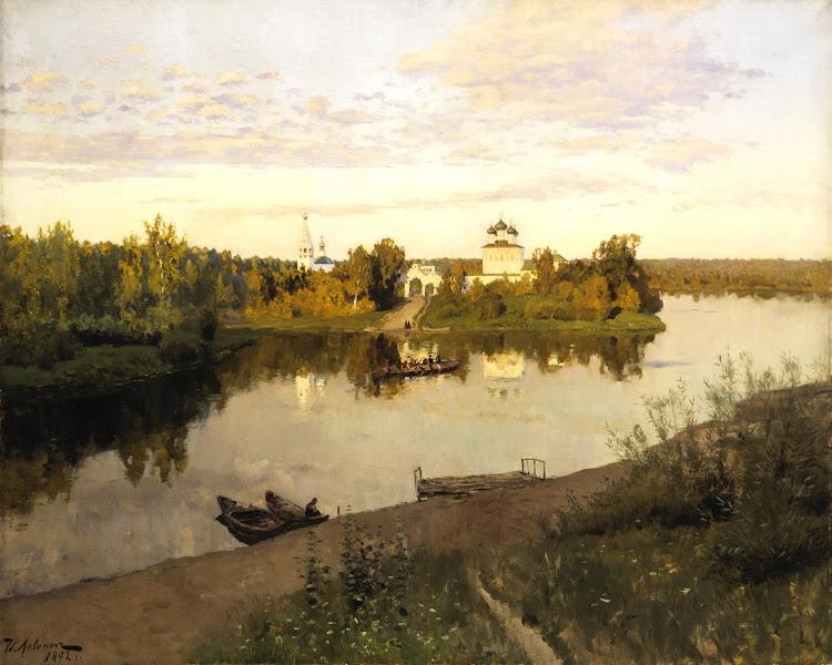 Isaak Levitan - Evening Bells 1892