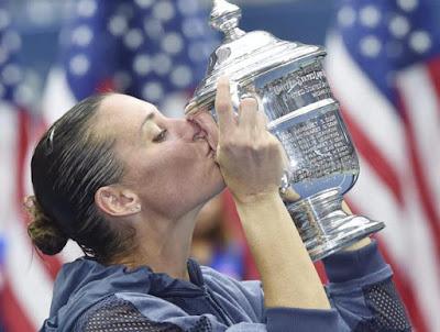 TENIS - Grand Slam US Open femenino 2015: Flavia Pennetta se retira en lo alto del US Open