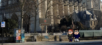 Casal Geek Eurotour 2013 - Descobrindo Paris - Cathédrale Notre Dame e Crypte Archéologique