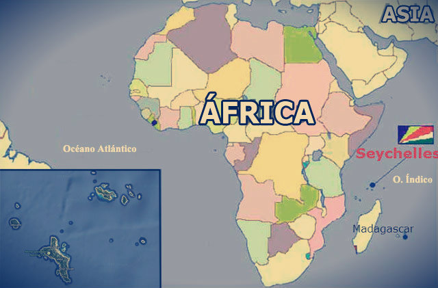 Descubre Tu Mundo : Destino: las espectaculares Islas Seychelles ... SEYCHELLES MAPA
