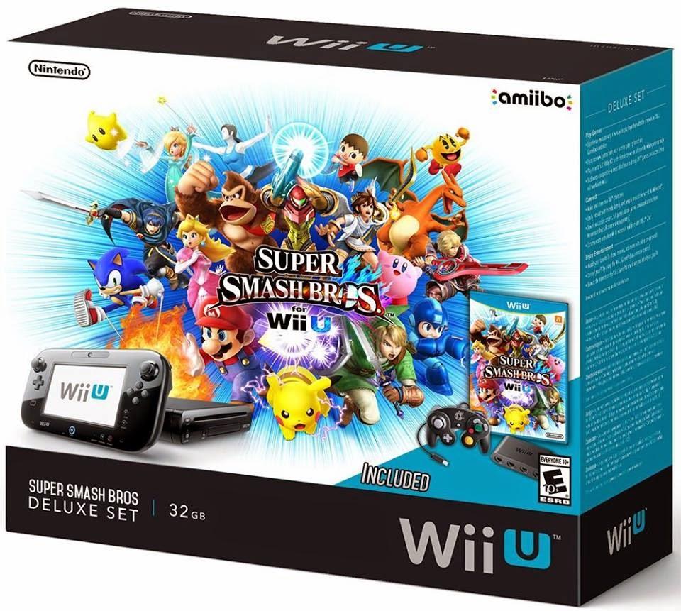 Wiiu Com Game : Rumor novo bundle de wii u com super smash bros