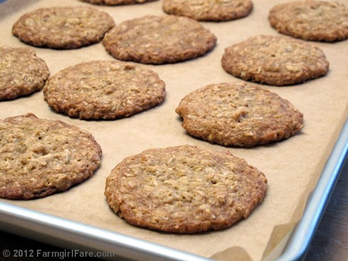 ... Soft and Chewy Oatmeal Coconut Cookies Made with Unsweetened Coconut