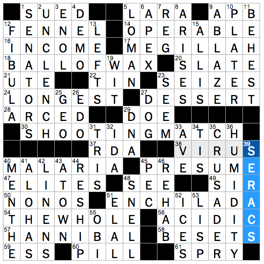 Rex parker does the nyt crossword puzzle quot damn yankees quot team thu 6