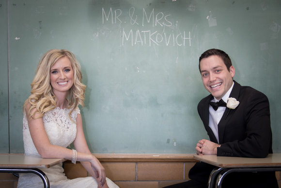 chalkboard wedding pictures