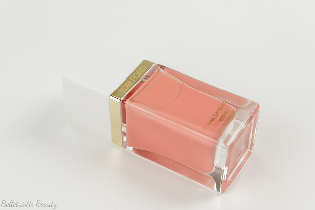 Tom Ford 03 3 Coral Beach Nail Polish Lacquer, Spring 2014 Collection in studio lighting