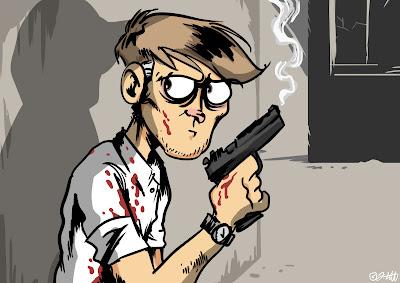 jo lott johannes dhbw mediendesign illustration comic grafik design lott zeichnung zeichnen wacom intuos