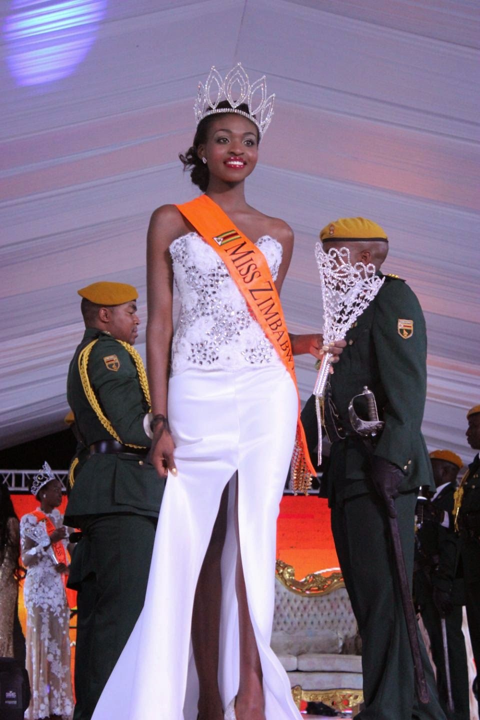 Miss Zimbabwe Stripped Of Her Crown Over Nude Photo